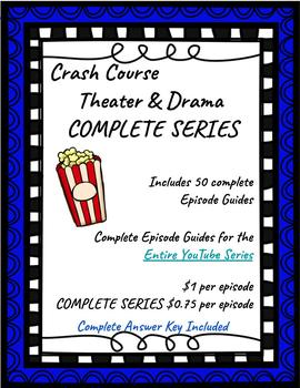 Crash Course History of Theater and Drama COMPLETE SERIES ~ Distance Learning