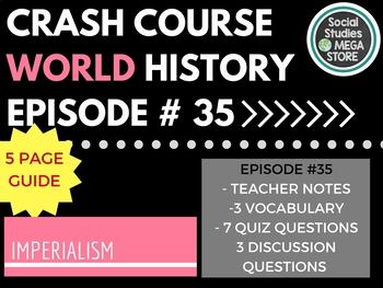 Crash Course Imperialism Ep. 35