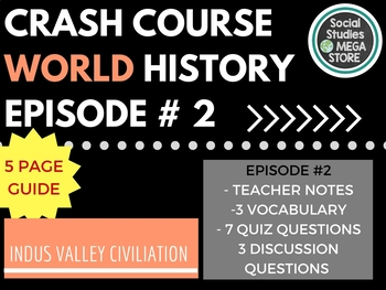 Crash Course Indus Valley Ep. 2