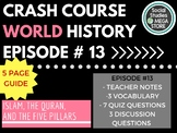 Islam, the Quran,& the Five Pillars All Without a Flamewar: Crash Course Ep. 13
