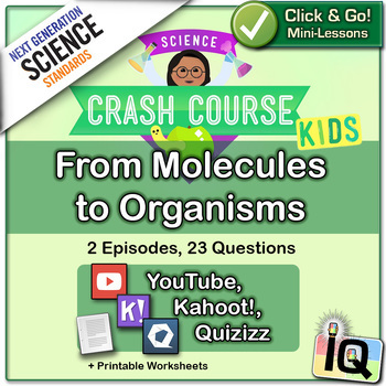 Crash Course Kids,  From Molecules to Organisms