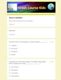 Crash Course Kids | Severe Weather | Google Forms Quiz | YouTube