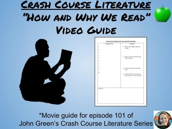 Crash Course Literature-How and Why We Read-Study Guide #1