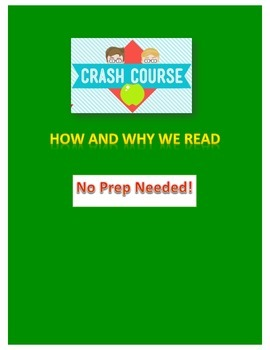 Crash Course Literature: How and Why We Read Study Guide