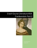 Crash Course Literature-Frankenstein Part 2-Study Guide #14
