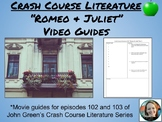 Crash Course Literature-Romeo and Juliet Part 1-Study Guide #2