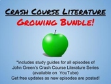 Crash Course Literature Bundle-ALL 24 EPISODES!