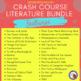 Crash Course Literature: Frankenstein Listening Guides