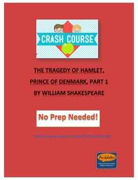Crash Course Literature: Hamlet by Shakespeare (Part 1)