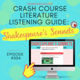 Crash Course Literature: Shakespeare's Sonnets Listening Guides