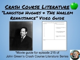"""Langston Hughes & The Harlem Renaissance"" Crash Course Literature Video Guide"