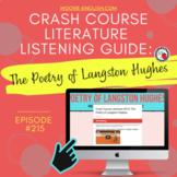 Crash Course Literature: Poetry of Langston Hughes Listening Guide