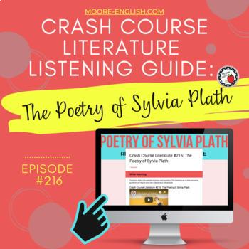 Crash Course Literature: Poetry of Sylvia Plath Listening Guide