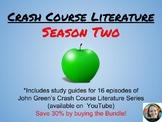 Crash Course Literature Season 2 Discount Bundle (Episodes 9-24)