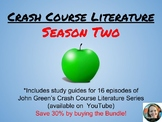 Crash Course Literature Season 2 Bundle Pack (Episodes 9-24)