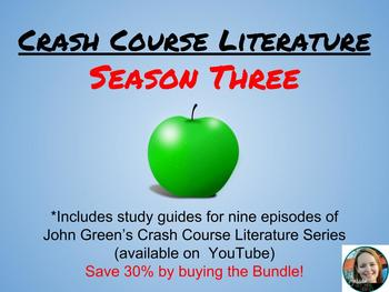 Crash Course Literature Season 3 Discount Bundle (episodes 25-33)