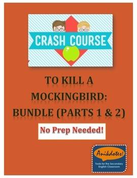 Crash Course Literature: To Kill a Mockingbird - Bundle (Study Guide)