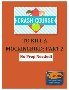 Crash Course Literature: To Kill a Mockingbird: Part 2 (Study Guide)