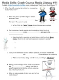 Crash Course Media Literacy #11 (Media Skills) worksheet