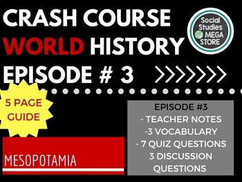 Crash Course Mesopotamia Ep. 3