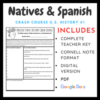 Crash Course U.S. History: Native Americans and Spanish #1