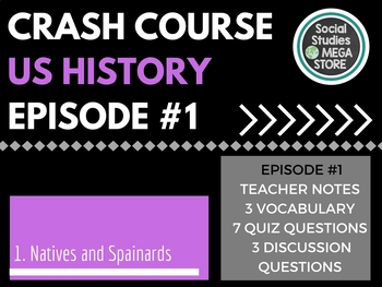 Crash Course Natives and Spaniards Ep. 1