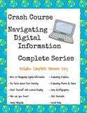 Crash Course Navigating Digital Information COMPLETE SERIES BUNDLE