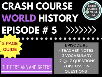 Crash Course Persians and Greeks Ep. 5