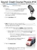 Crash Course Physics #18 (Sound) worksheet