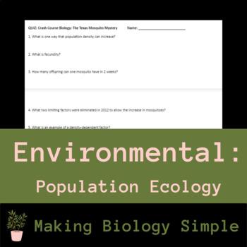 Crash Course: Population Ecology Video Quiz