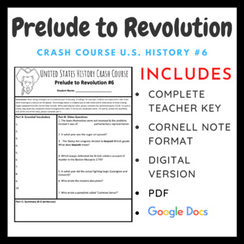 Crash Course U.S. History: Prelude to Revolution #6