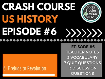 Crash Course Prelude to War Ep. 6