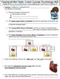 Crash Course Psychology #25 (Feeling All the Feels) worksheet