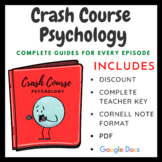Crash Course Psychology: Complete Guides for Every Episode (Huge Discount)
