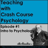 Crash Course Psychology: Episode #1 (Intro to Psychology)