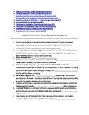 Psychology Episodes 11-20 Crash Course YouTube  video questions