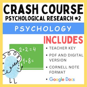 Psychological Research: Crash Course Psychology #2