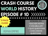 Crash Course Rome Ep. 10