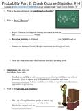 Crash Course Statistics #14 (Probability Part 2) worksheet