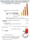 Crash Course Statistics #5 (Data Visualization, Part I) worksheet