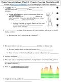 Crash Course Statistics #6 (Data Visualization, Part II) worksheet