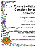 Crash Course Statistics COMPLETE SERIES BUNDLE Episodes #1-44
