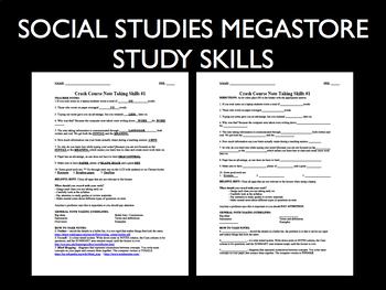Crash Course Study Skills Note Taking Ep. 1