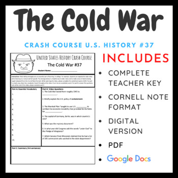 Crash Course U.S. History: The Cold War #37
