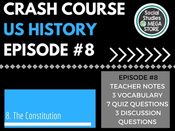 Crash Course The Constitution Ep. 8