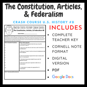 Crash Course: The Constitution, the Articles, and Federalism #8