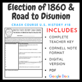 Crash Course U.S. History: The Election of 1860 & the Road to Disunion #18