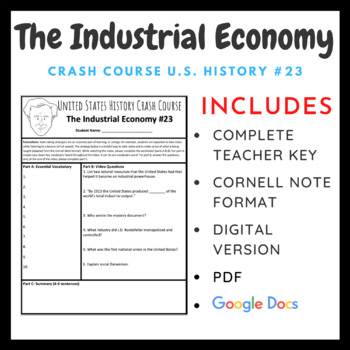 Crash Course U.S. History: The Industrial Economy #23
