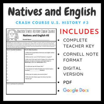 Crash Course U.S. History: The Natives and the English #3