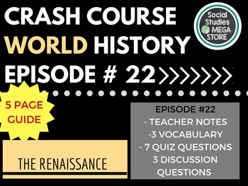 Crash Course The Renaissance Ep. 22